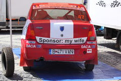 Sponsor: my wife Royalty Free Stock Images