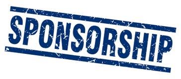 Sponsorship stamp. Sponsorship grunge vintage stamp isolated on white background. sponsorship. sign royalty free illustration