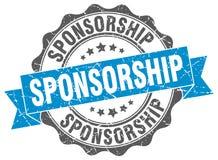 Sponsorship seal. stamp. Sponsorship round seal isolated on white background. sponsorship royalty free illustration