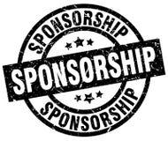 Sponsorship stamp. Sponsorship grunge vintage stamp isolated on white background. sponsorship. sign stock illustration