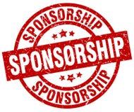 Sponsorship stamp. Sponsorship grunge vintage stamp isolated on white background. sponsorship. sign vector illustration