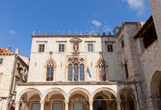 Sponza Palace (1522) in Dubrovnik, Croatia. UNESCO site Stock Images