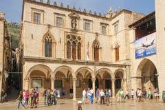 Sponza Palace. Dubrovnik. Croatia Royalty Free Stock Photo