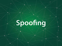 Spoofing is a technique to get unauthorized access to a computer or data by pretending to be authorized host, usually Stock Image