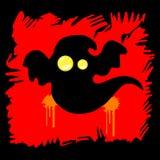 Spook Allen voor Halloween, Vrees en Schrik stock illustratie
