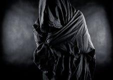 Spook in dark Royalty-vrije Stock Foto's