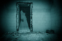 Spook van de Bruid in een Donkere Zaal royalty-vrije stock foto
