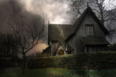 Spookhuis #3 royalty-vrije stock afbeelding
