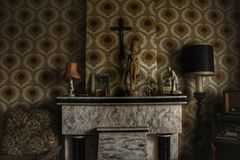 Spookhuisruimte Royalty-vrije Stock Fotografie