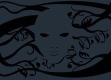 Spookmasker zonder een gezicht Stock Afbeeldingen