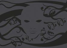 Spookmasker zonder een gezicht 2 Stock Afbeelding