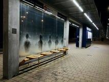Spookpassagiers bij dageraad Royalty-vrije Stock Foto