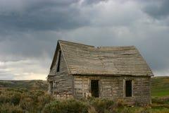 Spookstad, Piemonte, Wyoming Stock Foto's