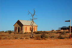 Spookstad Silverton, Nieuw Zuid-Wales, Australië Stock Foto's