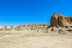 Spookstad van de Wereld in Xinjiang Royalty-vrije Stock Afbeelding