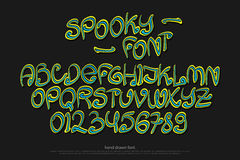 spooky illustrazione di stock