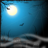 Spooky background design Stock Photography