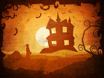 Spooky Background for Halloween Party. Stock Images