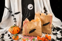 Spooky bags Royalty Free Stock Photo