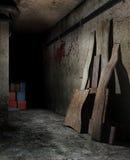Spooky basement Royalty Free Stock Photo