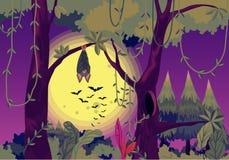 Spooky bats Stock Photo