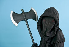 Spooky Black Costume Royalty Free Stock Photos