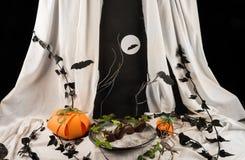 Spooky black dragon Stock Photo