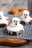 Spooky Boo ghost cookies Stock Photos