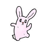 spooky bunny rabbit cartoon Stock Photos
