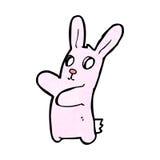 spooky bunny rabbit cartoon Stock Photo
