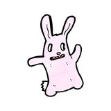 Spooky bunny rabbit cartoon Stock Photo