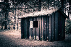 Spooky cabin Royalty Free Stock Images