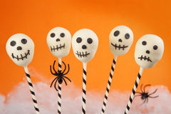 Spooky cake pops Stock Photo