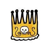Spooky cartoon crown Stock Photo