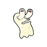 Spooky cartoon ghost Royalty Free Stock Photo