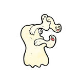 Spooky cartoon ghost Royalty Free Stock Image