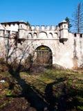 Spooky castle. Old castle near city of Karlovac in Croatia Royalty Free Stock Photography