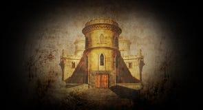 Free Spooky Castle 2 Royalty Free Stock Photos - 53551388