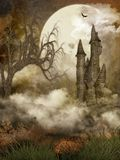 Spooky Castle Royalty Free Stock Images