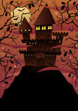 Spooky Castles Royalty Free Stock Photos