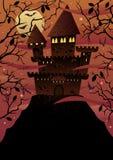 Spooky Castles Royalty Free Stock Photos