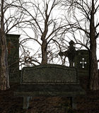 Spooky Cemetery Stock Images
