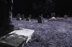 Spooky cemetery Royalty Free Stock Images