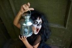 Spooky child Royalty Free Stock Photo