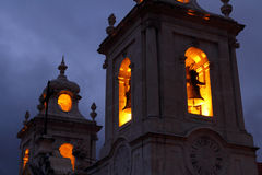 Free Spooky Church Bell Tower Stock Photos - 41042313