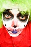 Spooky clown royalty free stock photo