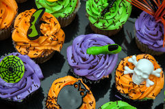 Spooky Cupcakes Stock Photo