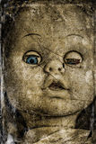 Spooky doll. Stock Image