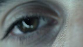 Spooky Eye stock video