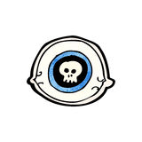 Spooky eye symbol Stock Images